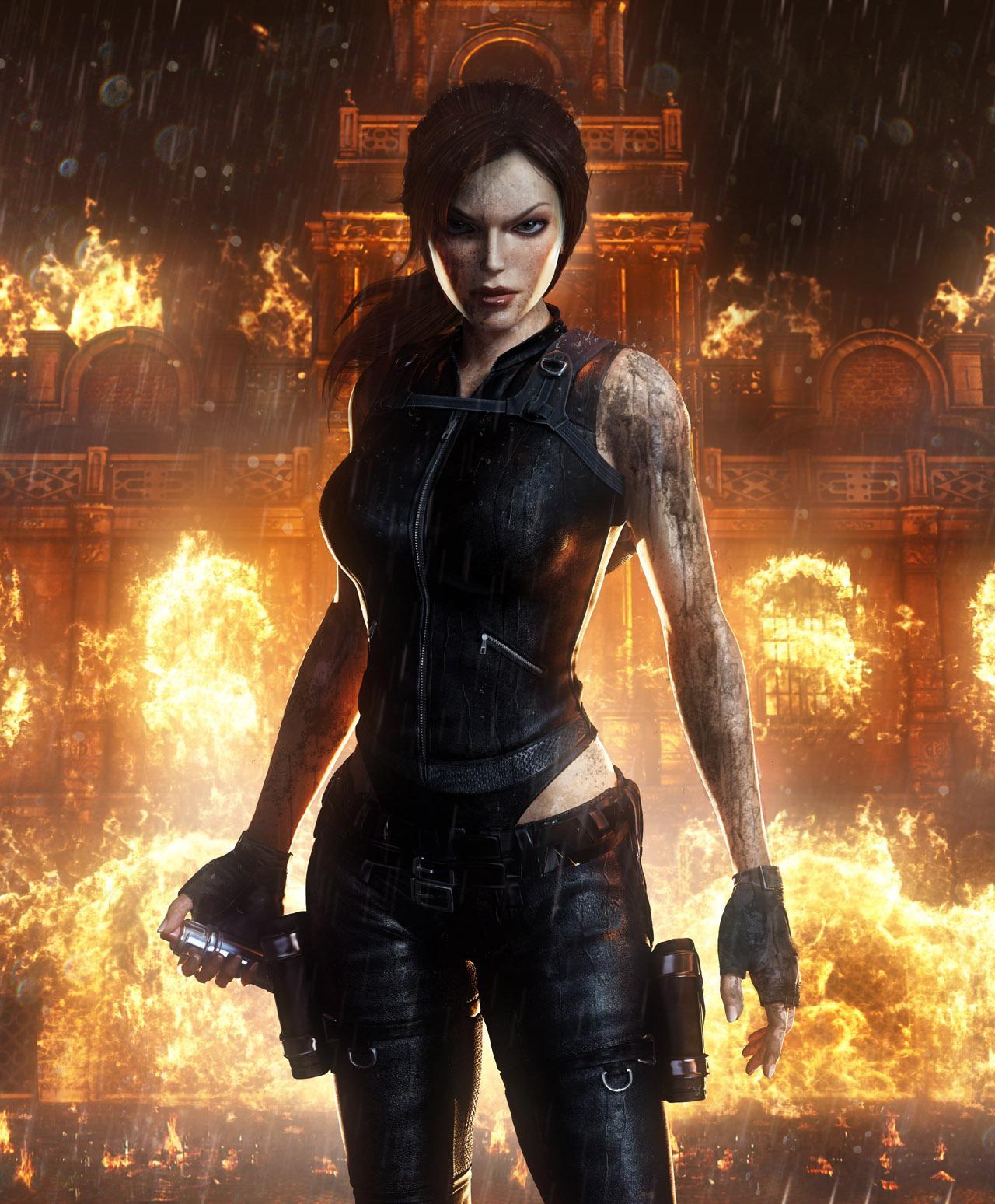 Tomb Rider Wallpaper: Does New Lara Look Japanese?