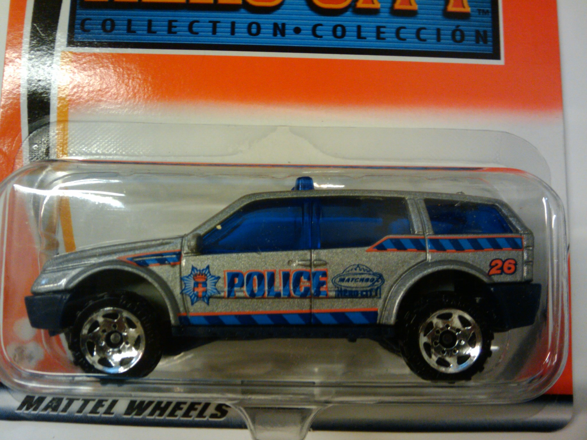 Police SUV - Matchbox Cars