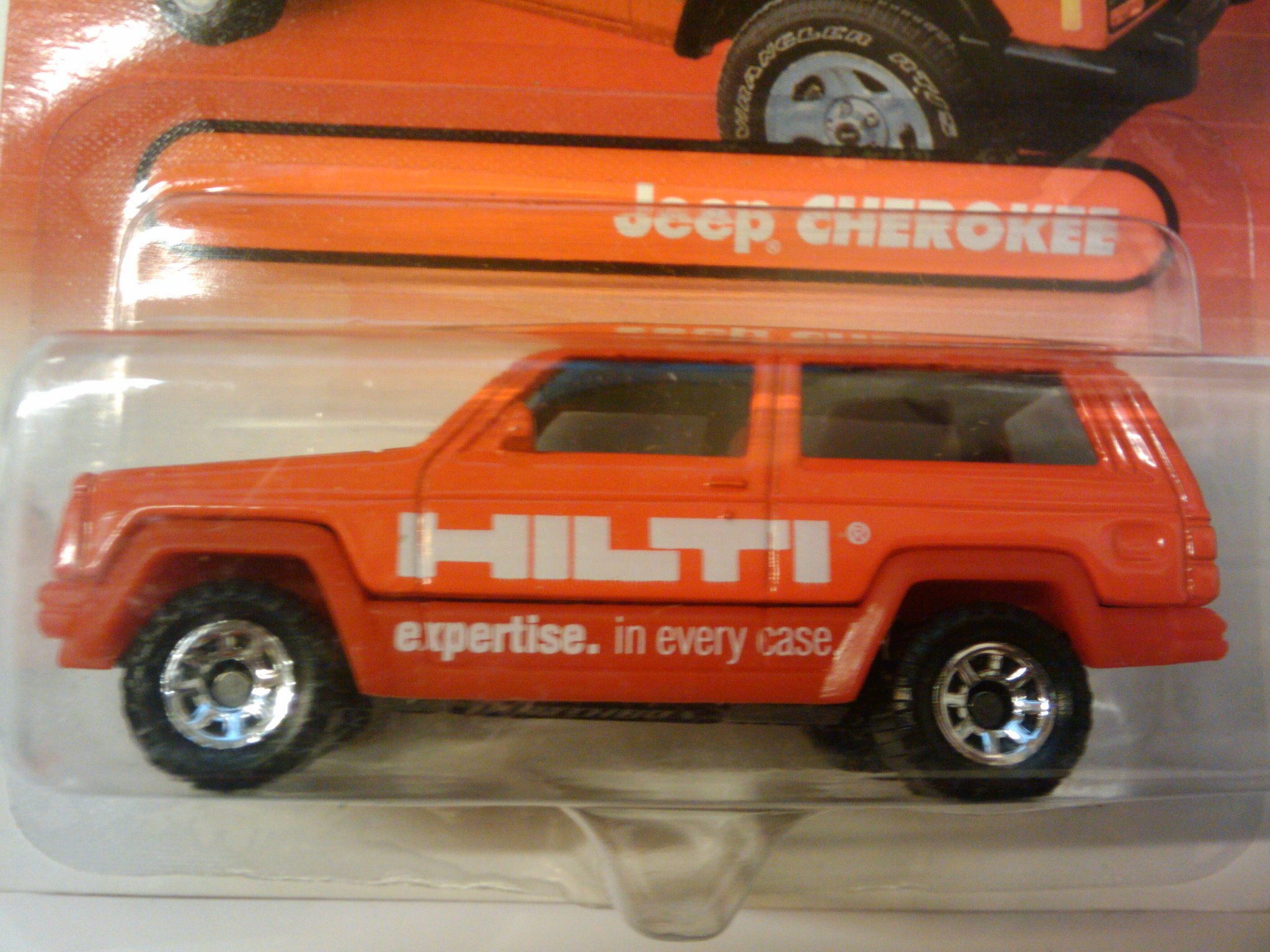 Jeep Cherokee Matchbox Cars