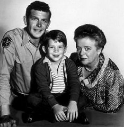 Andy  Oppie and Barney in Mayberry