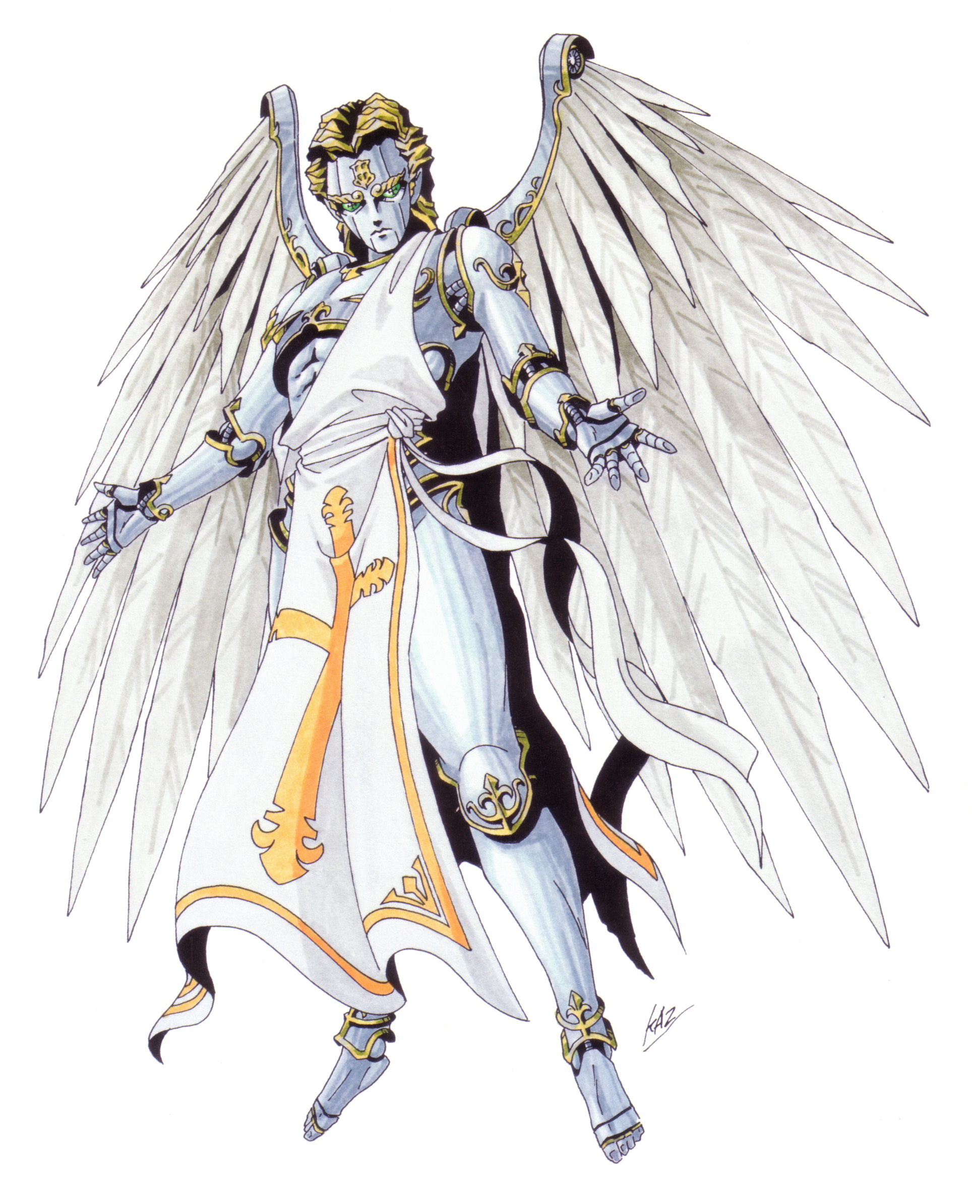 Metatron - Megami Tensei Wiki: a Demonic Compendium of your True Self