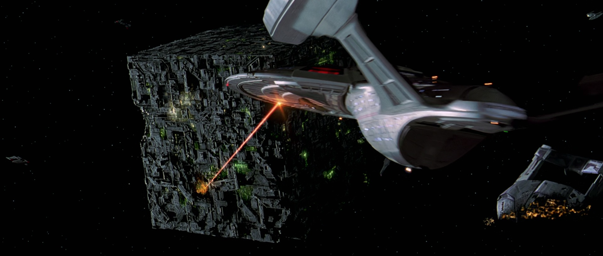 starfleet vs borg