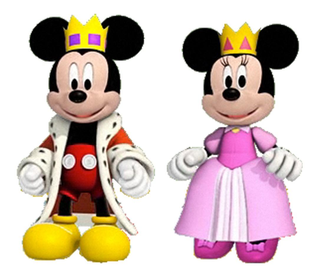Image prince mickey and princess minnie minnie 39 s - Princesse minnie ...