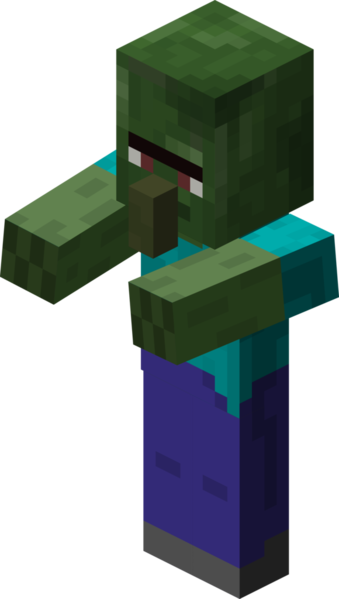 Image - Zombie Villager.png - Minecraft Wiki