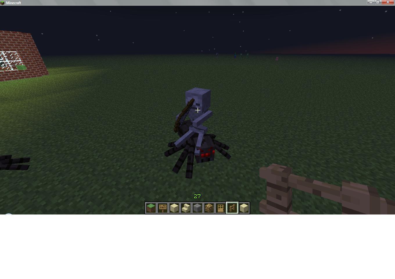 Image spider jockey minecraft minecraft wiki