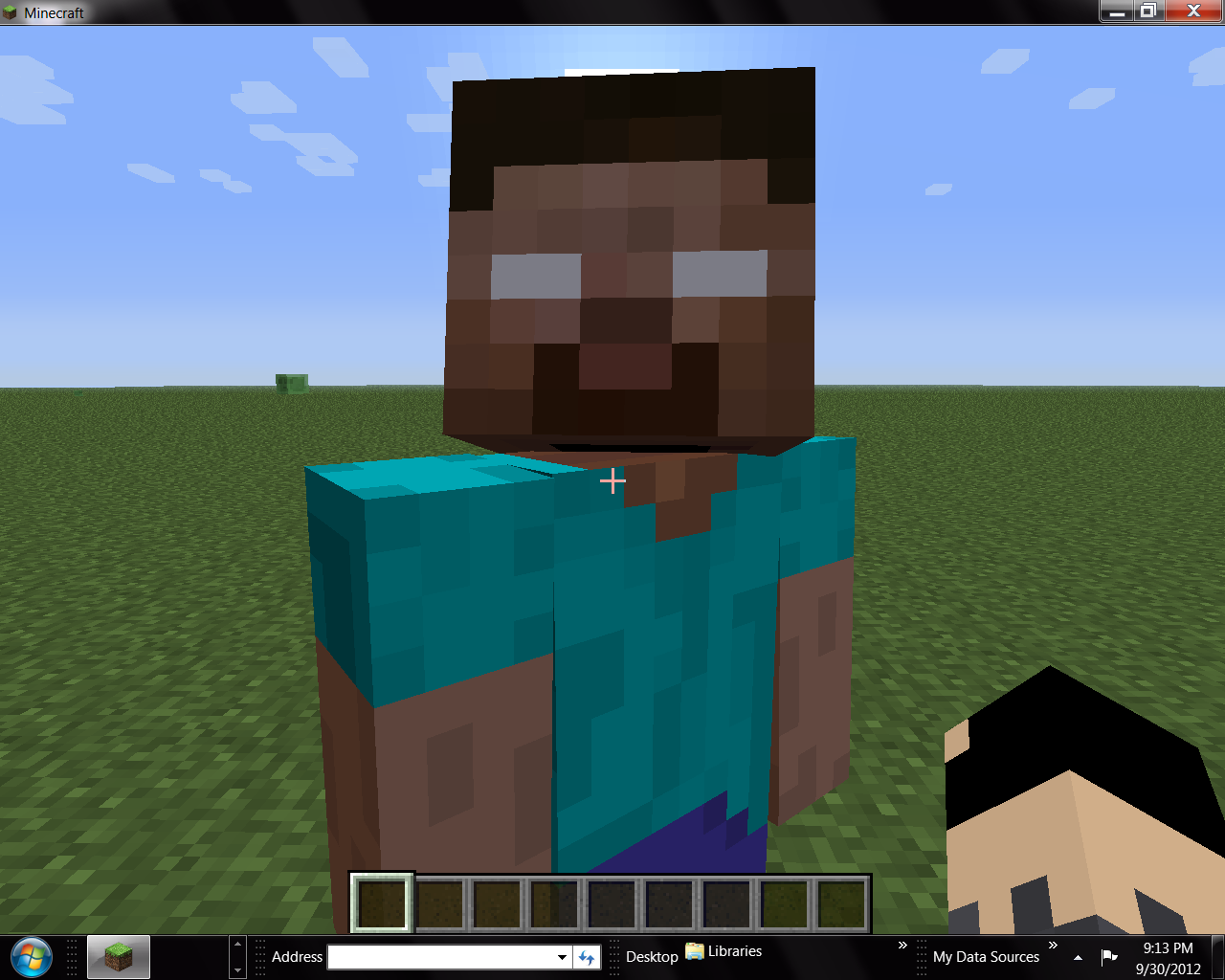 How To Spawn Herobrine in Minecraft PE - YouTube