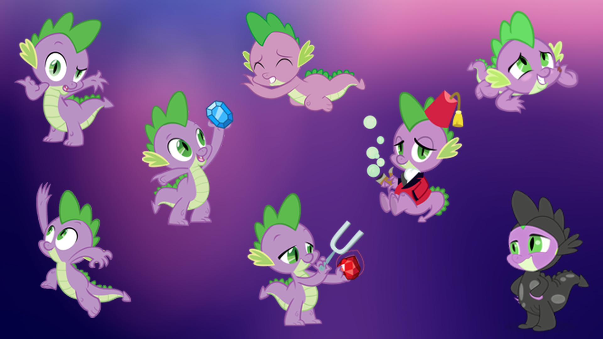 ... of Images Of Fanmade Spike Magic Wallpaper Friendship Little Pony