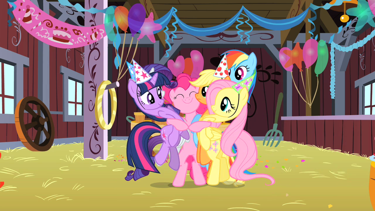 Pinkie Pie Birthday Party Pinkie realizes she forgot