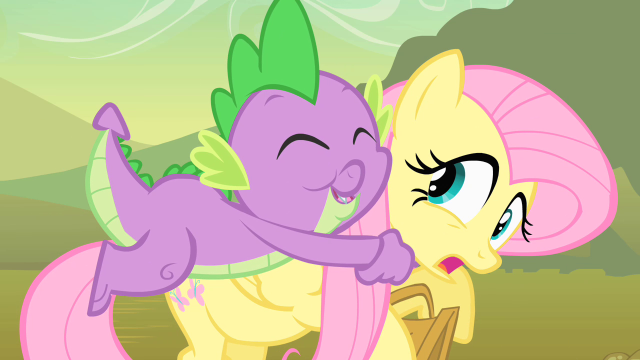 my little pony spike and rarity moments