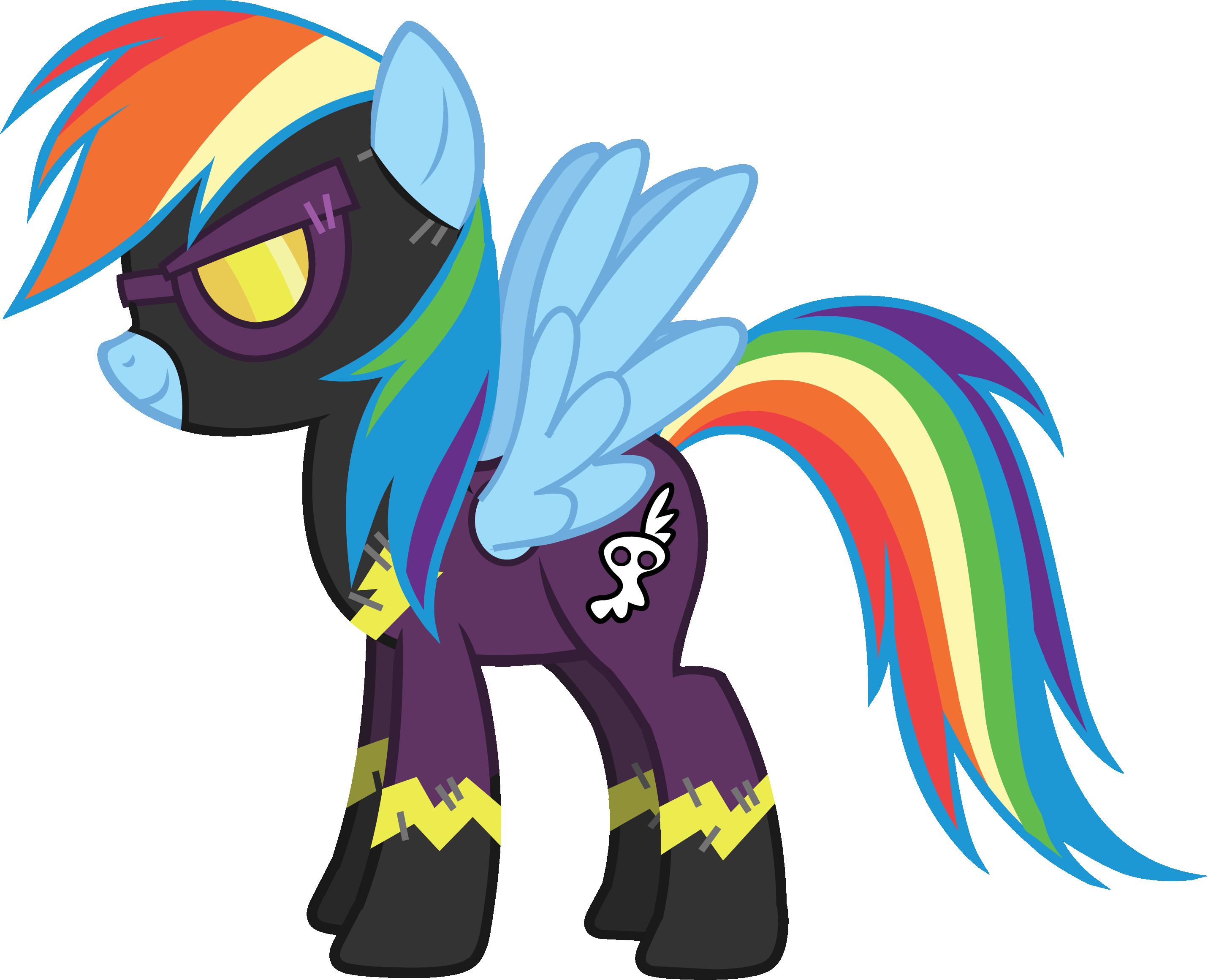 Rainbow Dash My Little Pony Castle