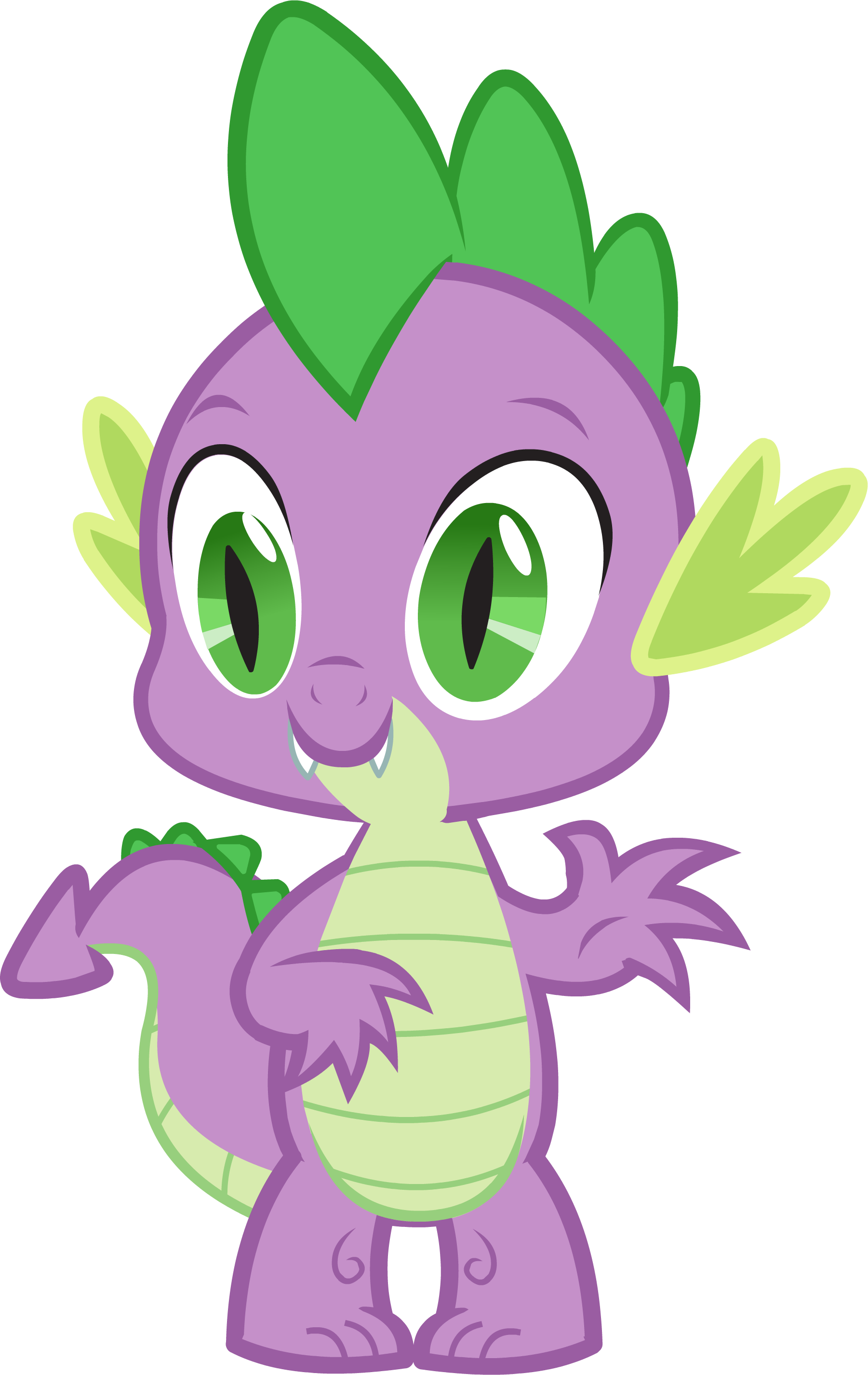 ... Canterlot Castle Spike 1.png - My Little Pony Friendship is Magic Wiki