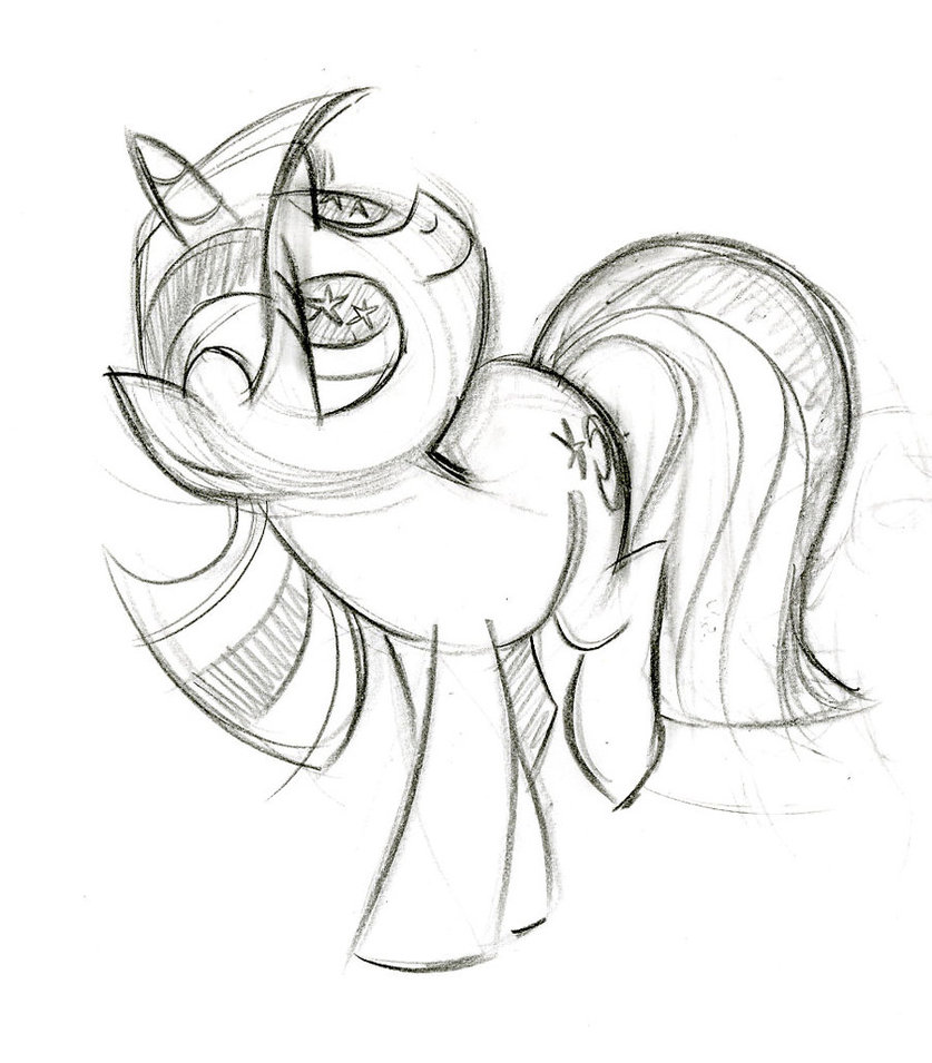 My Little Pony Sketches