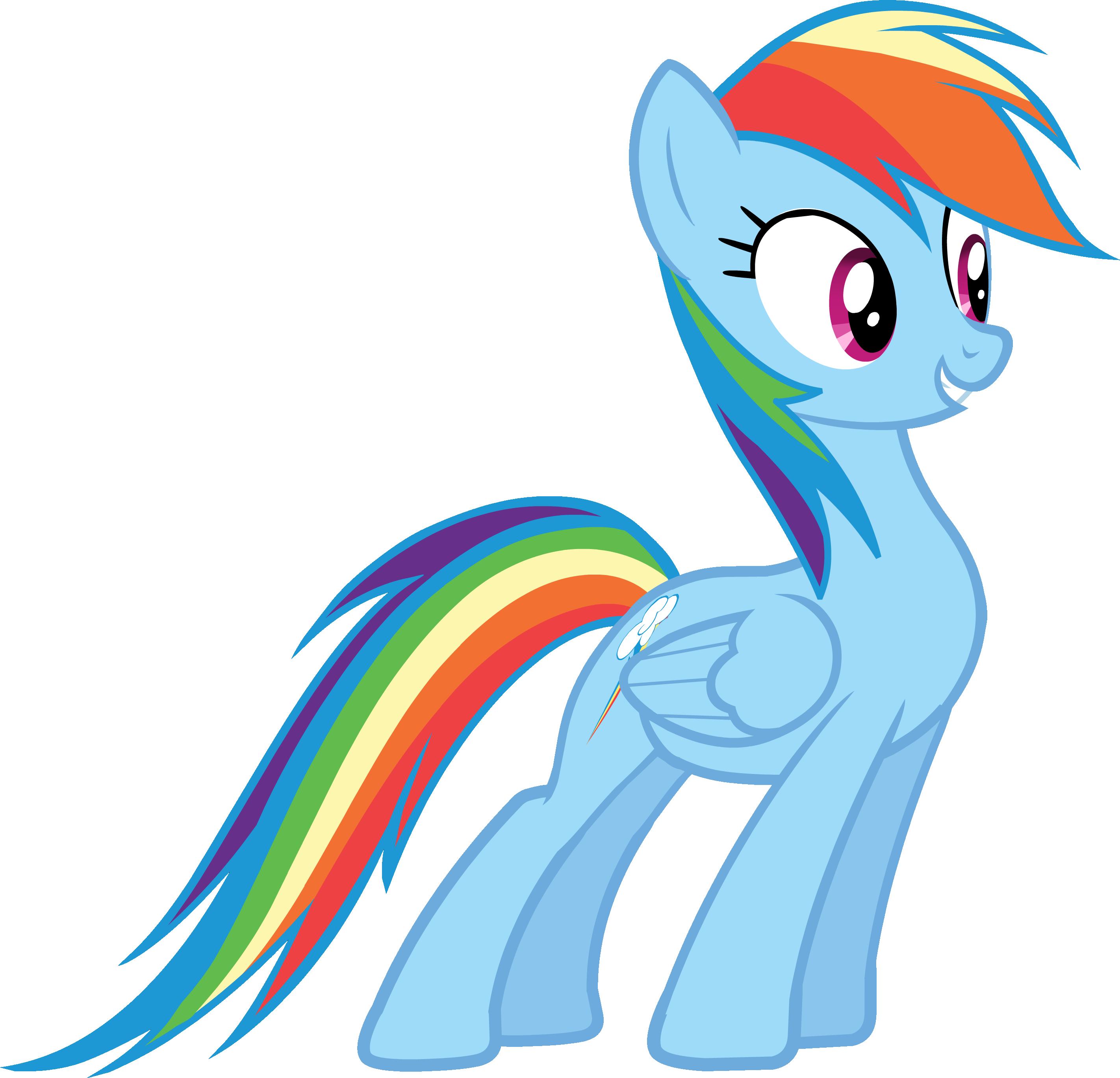 Image - Canterlot Castle Rainbow Dash 5.png - My Little Pony
