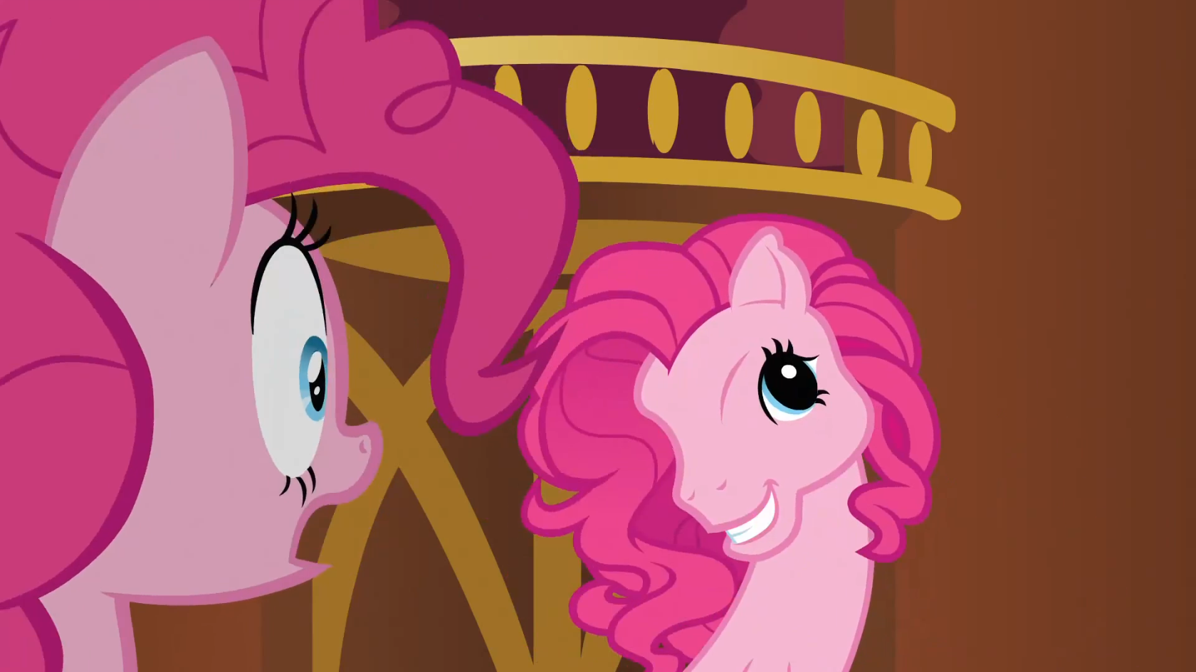 Image - Clone Pinkie Pie making G3 face S3E3.png - My Little Pony ...