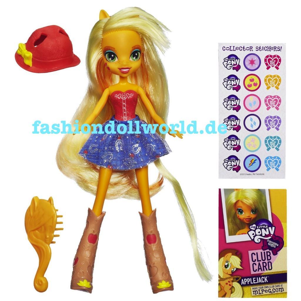 HASBRO Equestria Girls - Mon petit poney devient une fille ! 20130616032935!Applejack_Equestria_Girls_doll