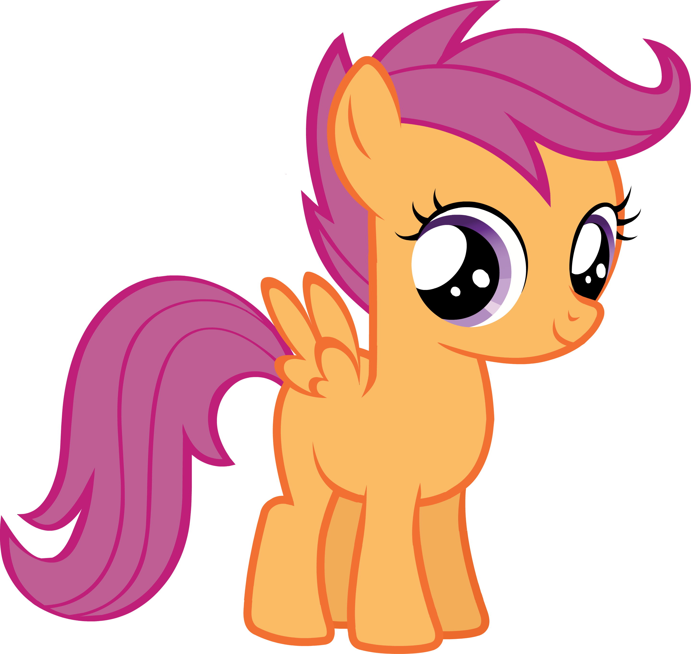 ... CastleCreator Scootaloo.png - My Little Pony Friendship is Magic Wiki
