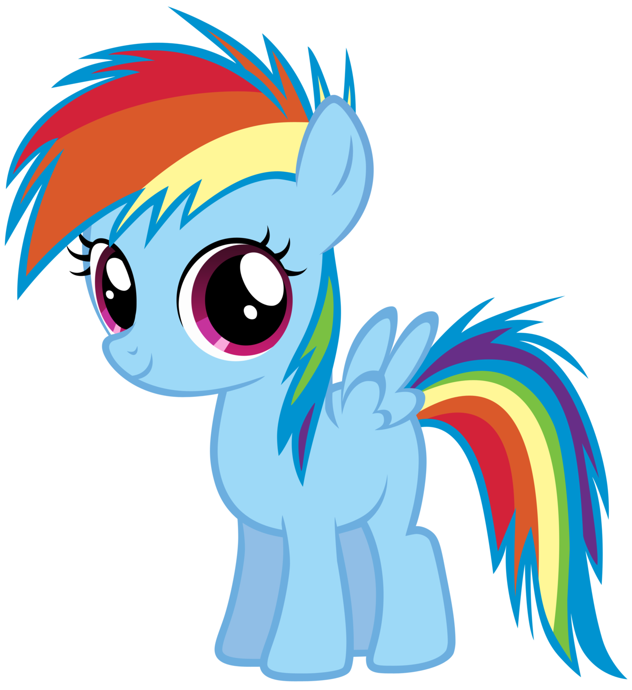 Image - FANMADE Young Rainbow Dash png - My Little Pony Friendship is    Pictures Of Baby Rainbowdash