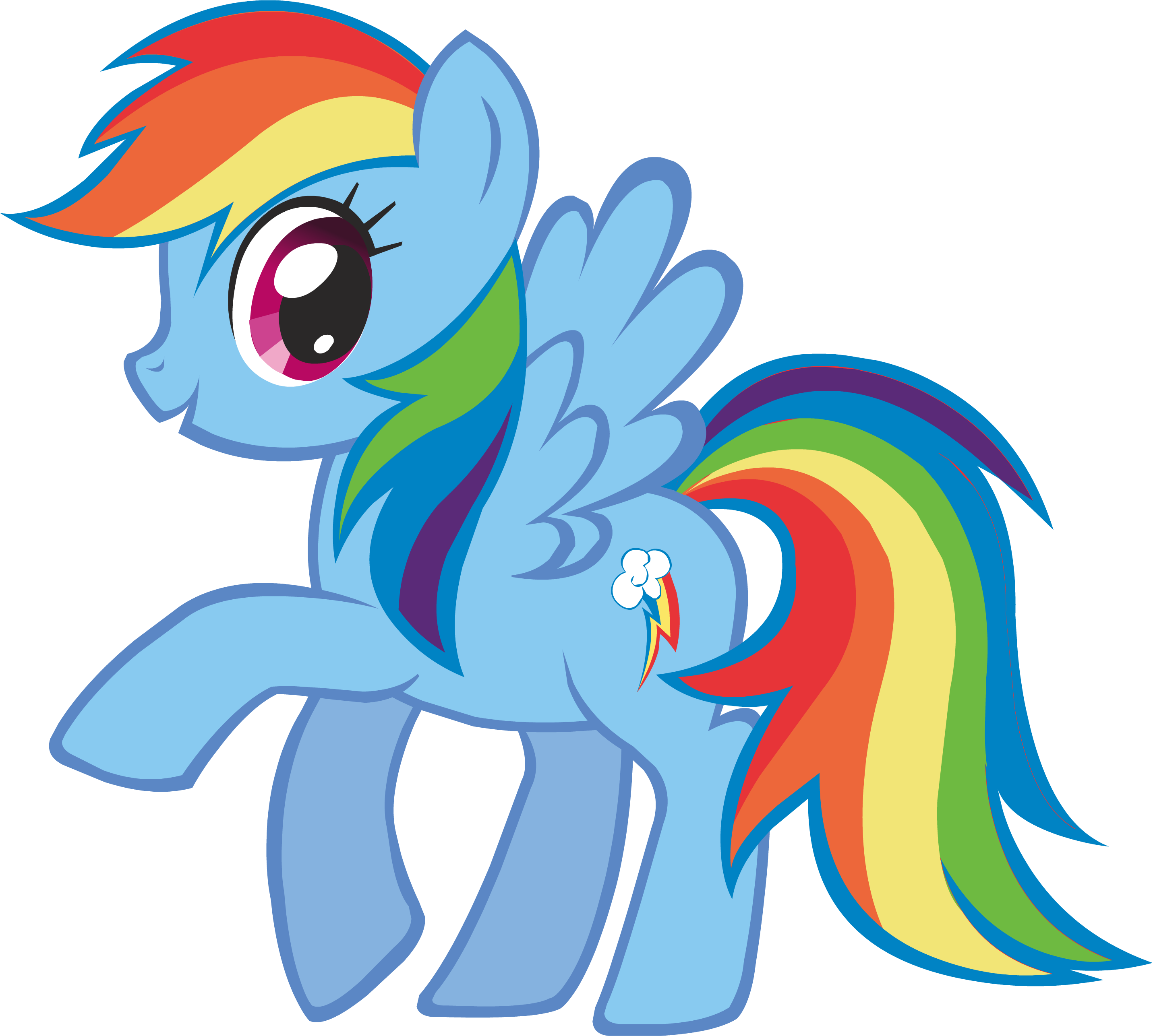 Rainbow Dash Png Image - Canterl...