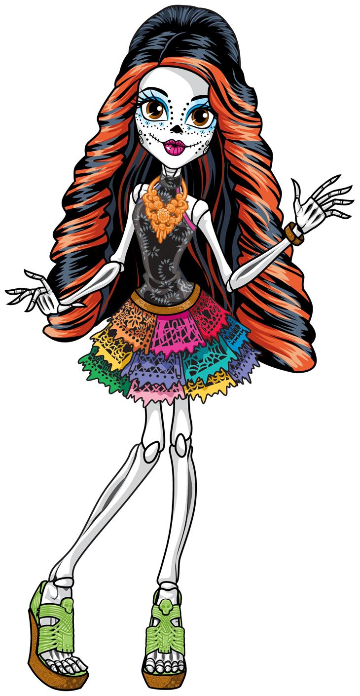 Monster High Skelita Calaveras Doll