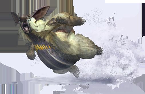 Art for Lagombi from Monster Hunter 3 Ultimate
