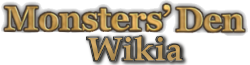 Monsters' Den Chronicles Wiki Wordmark