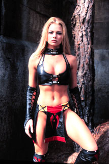 Women Wearing Revealing Warrior Outfits - Page 8 Mika003