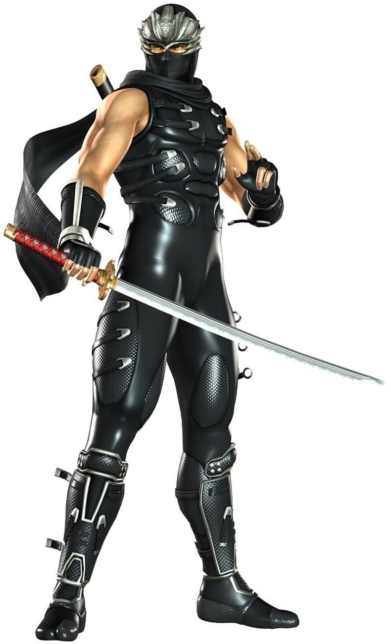 Ryu Hayabusa Ninja Gaiden Minecraft Skin