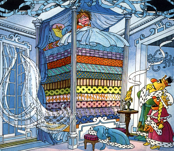 The Princess and the Pea - Muppet Wiki