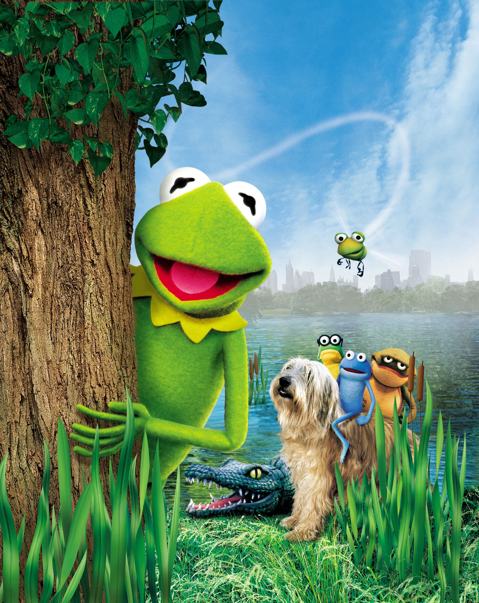Kermit and friends
