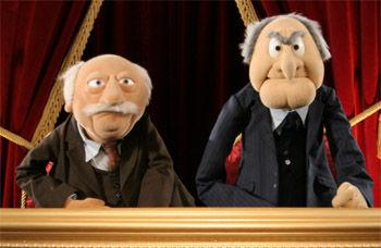 old guys muppets