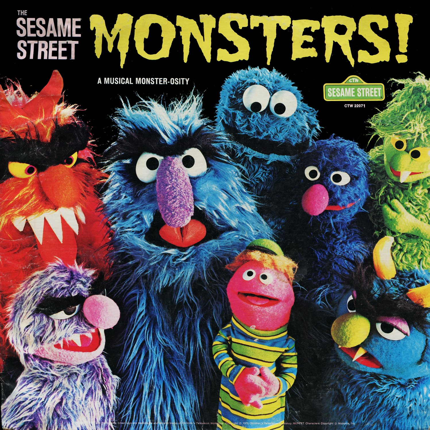sesame street monster