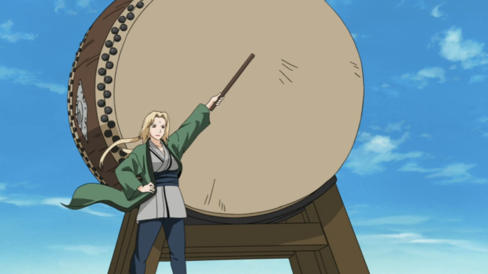 Senju Tsunade Eight_Trigram_Trap_Formation_Drum