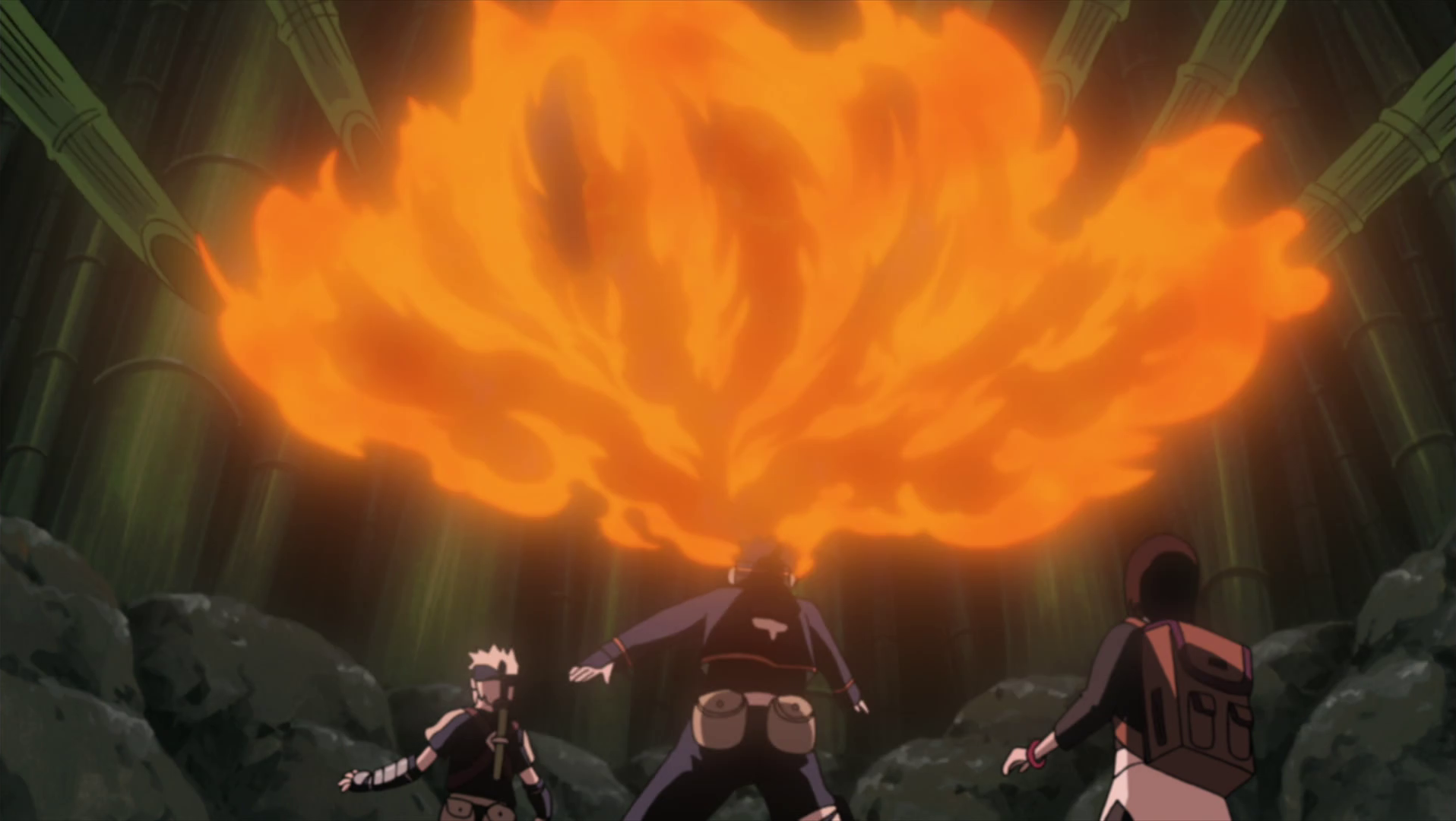 Hatake Kakashi Obito_using_fire_technique
