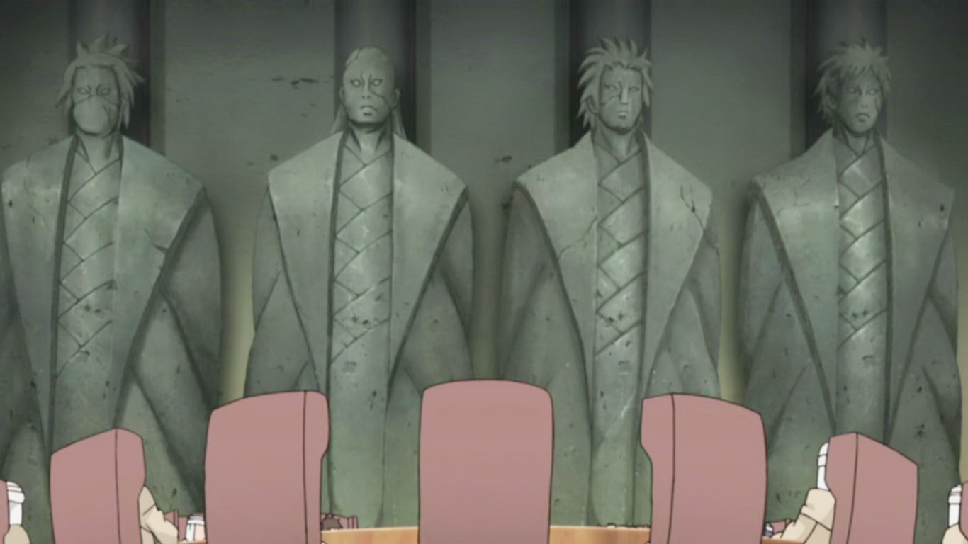 Re  the first kages of the other villages  Nidaime Kazekage