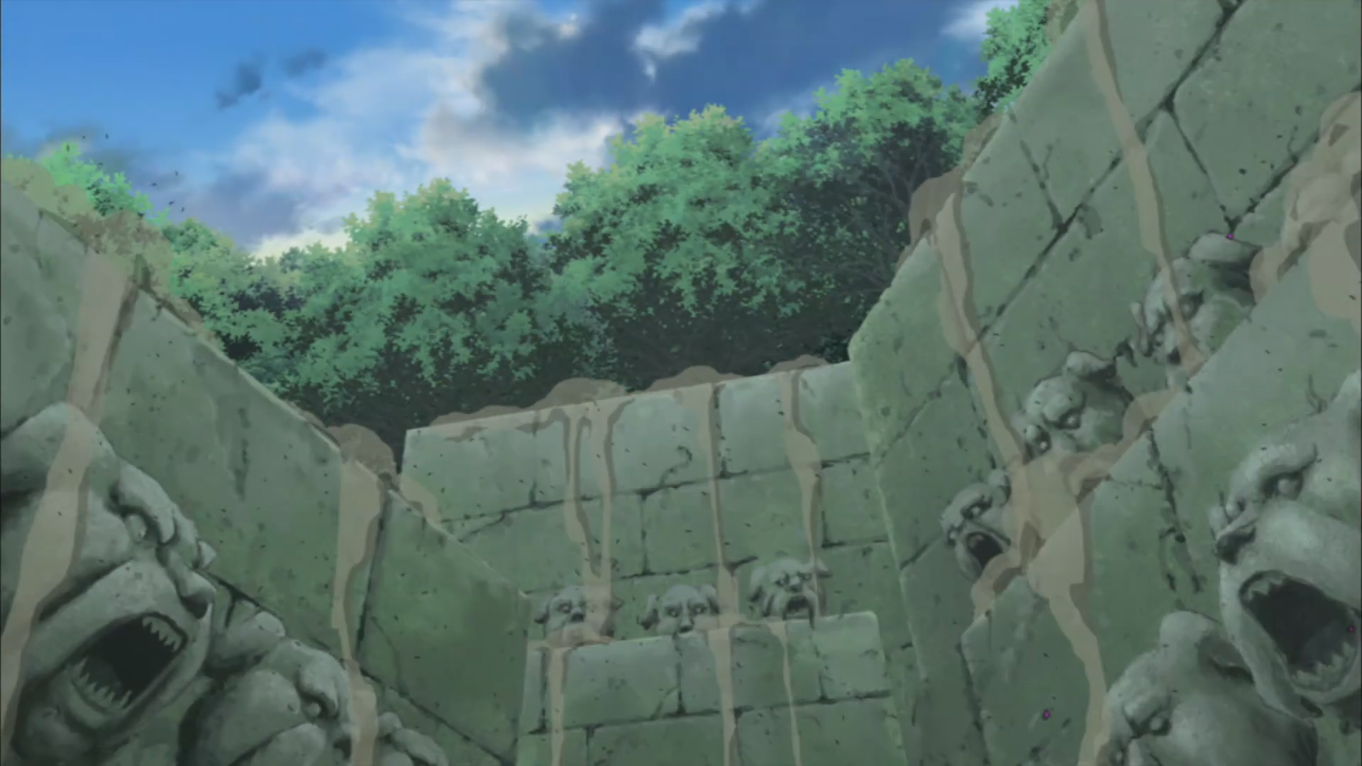Hatake Kakashi Multiple_earth_style_wall