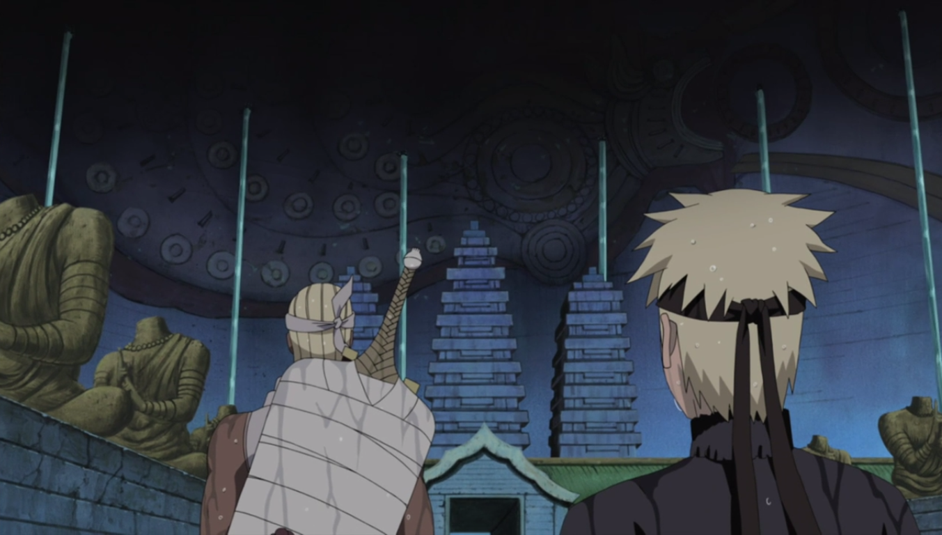 Image hachib narutopedia the naruto for Mural naruto