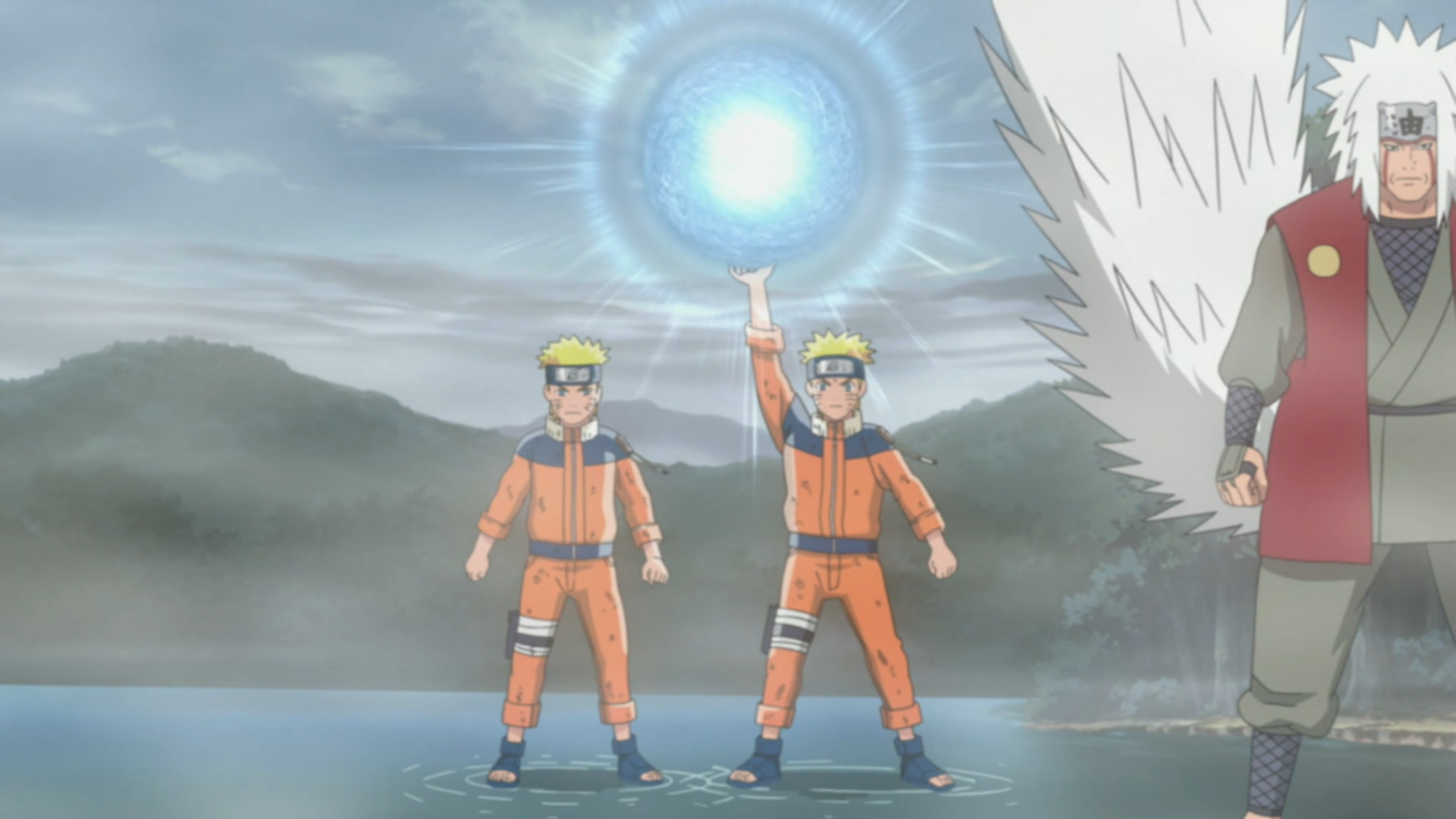 naruto sage rasengan. In Sage Mode, stronger
