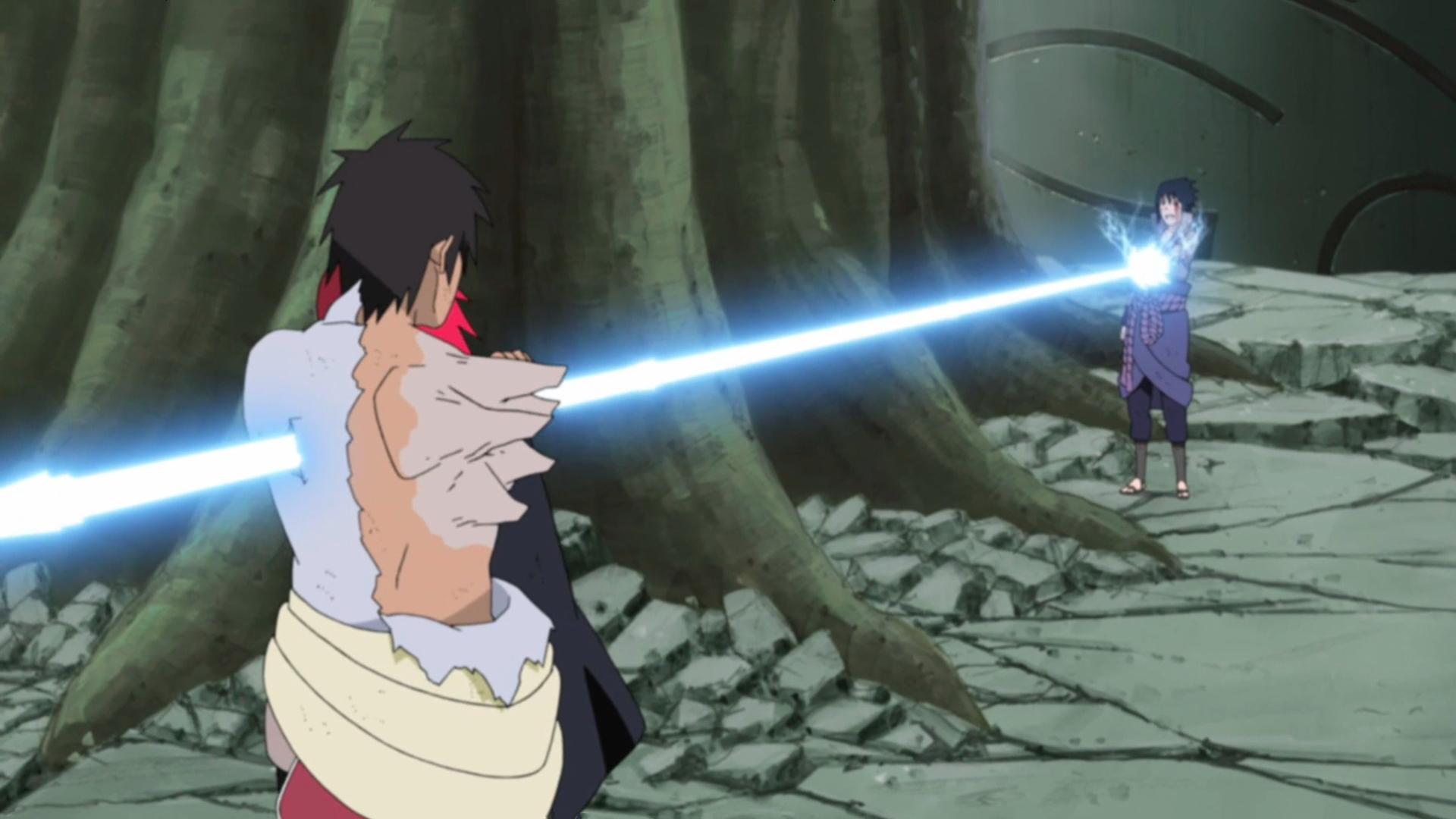 Ran Sasuke_stabs_Karin_and_Danzo
