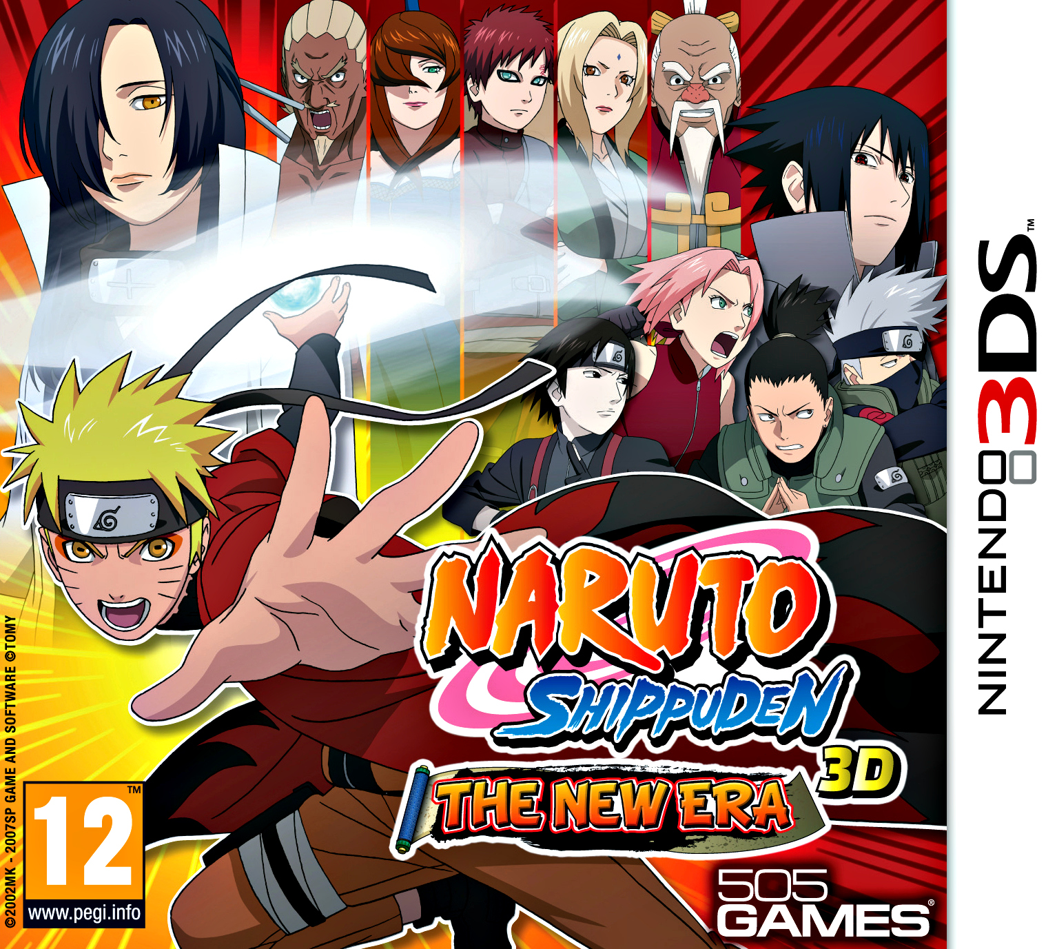 Naruto Shippuden 3D : The New Era 3DS