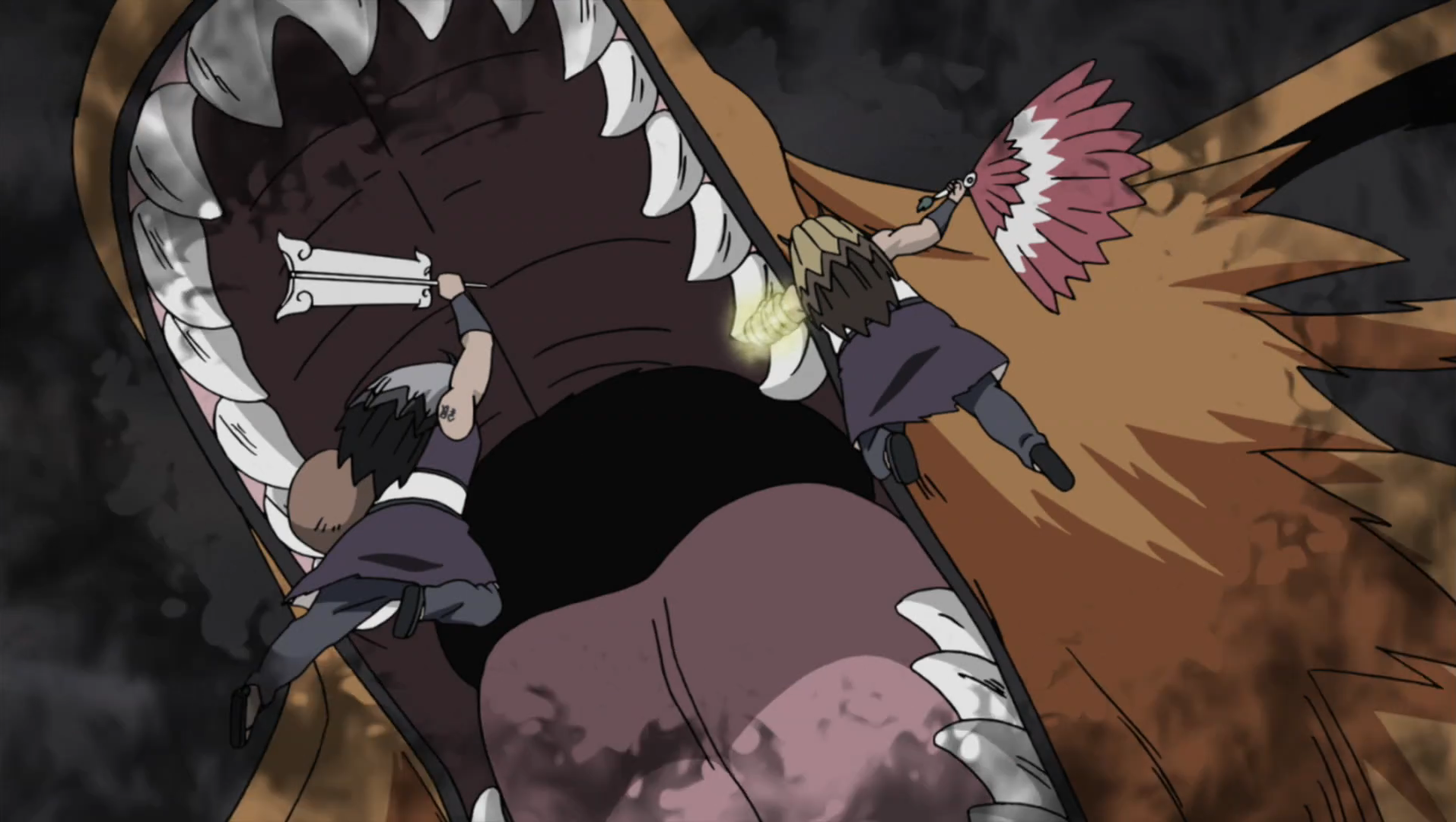 http://images.wikia.com/naruto/images/f/fe/Kurama_Swallows_Kinkaku_and_Ginkaku.png