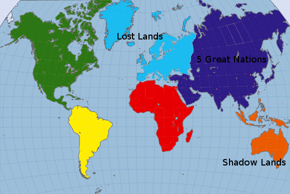 world map continents and oceans. the 5 oceans of the world the