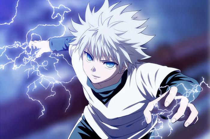 Tatsuma Shinju 132308-hunter-x-hunter-killua-zoldyck-lightning