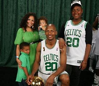 ray allen family  photos