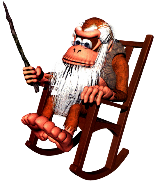Image - Cranky Kong.png - The Nintendo Wiki - Wii ...