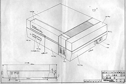 The final design of the NES.