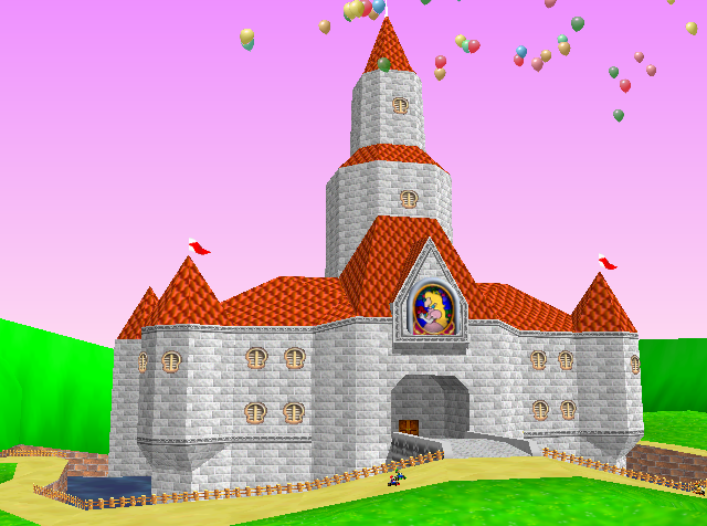 princess peach castle. Princess Peach#39;s Castle