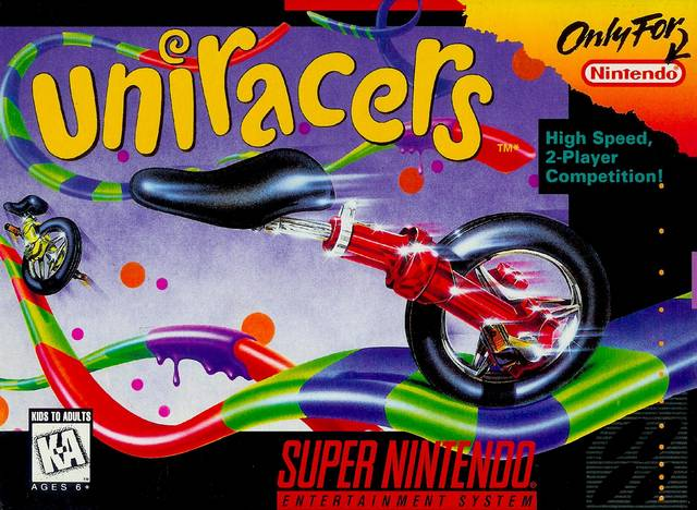 Uniracers SNES box art