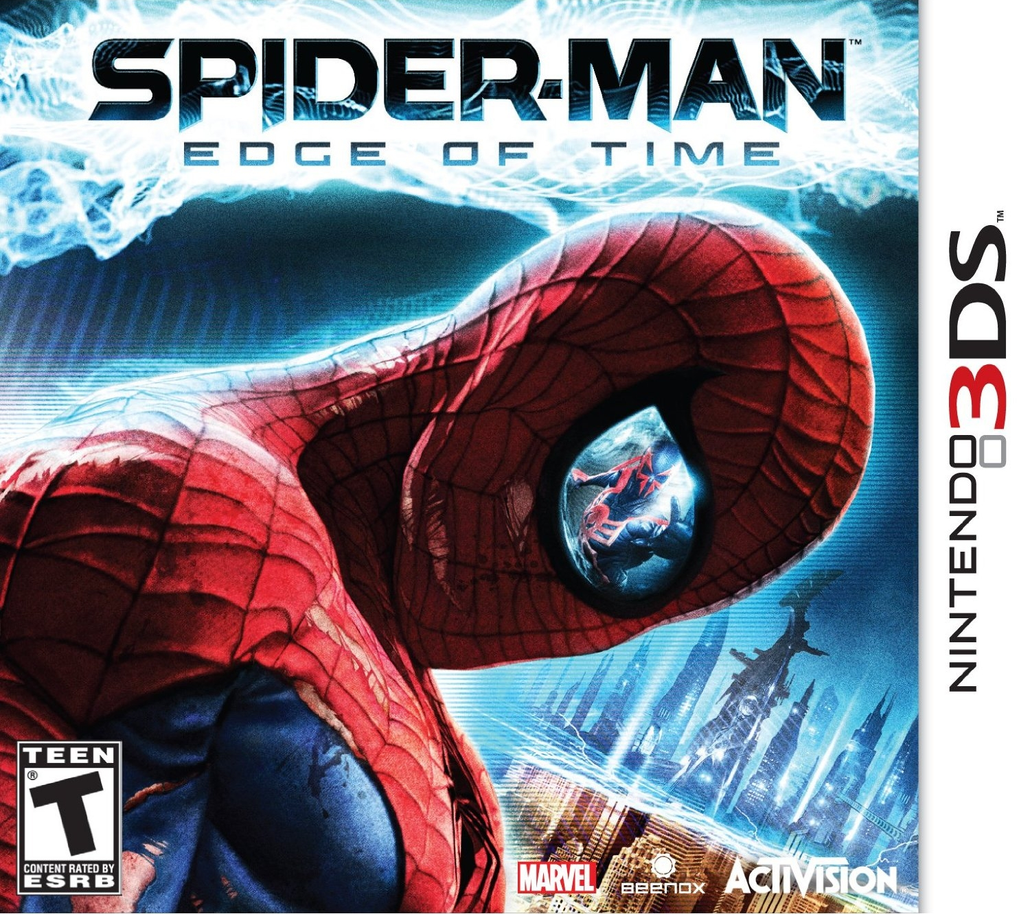 Spider man edge of time 3ds
