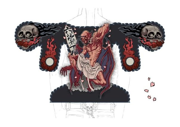 """Death Metal"" Tattoos"