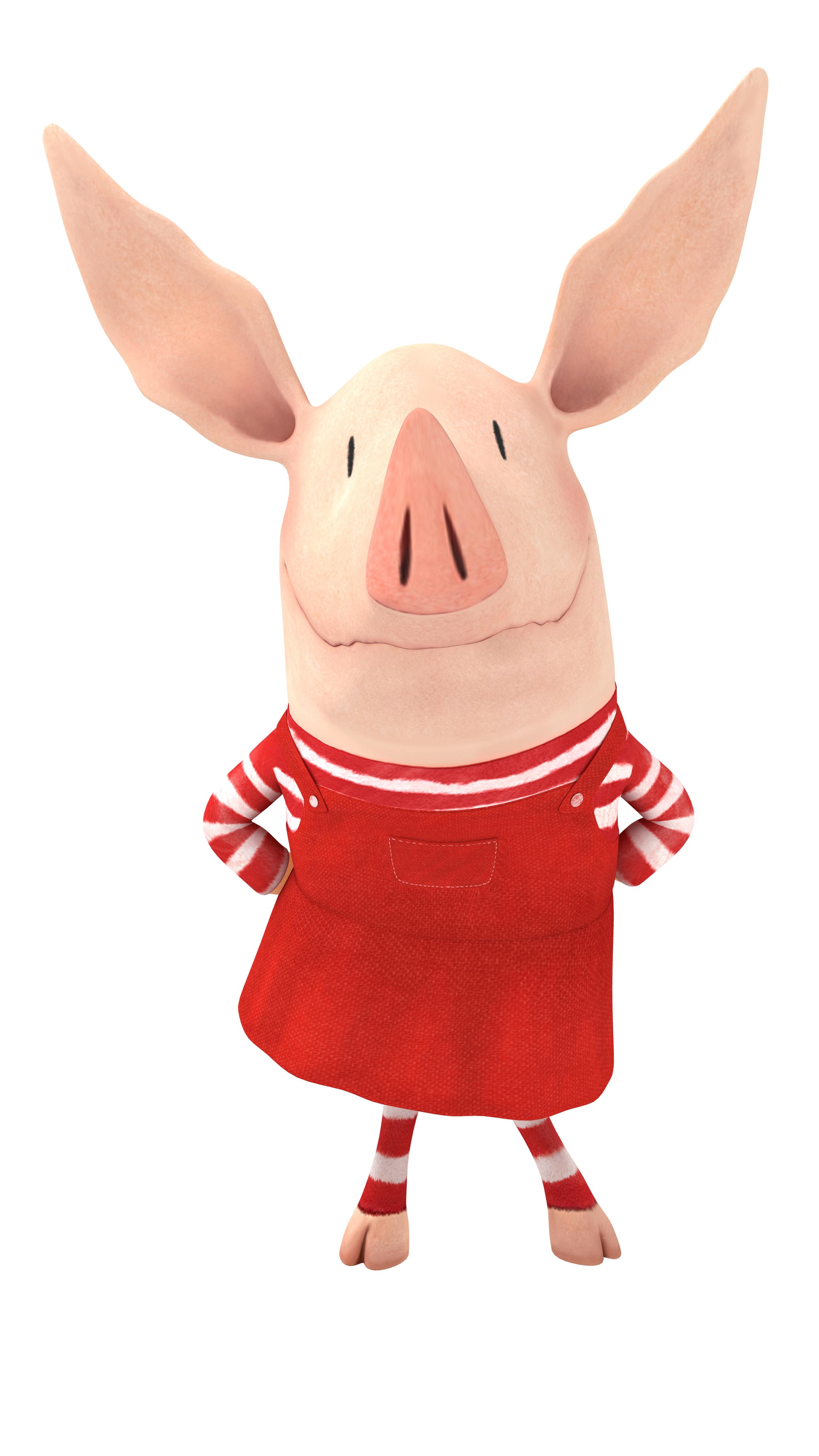 Olivia clipart pig
